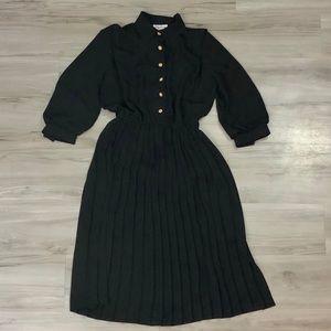 VTG Classic Black Dress by Lady Carol